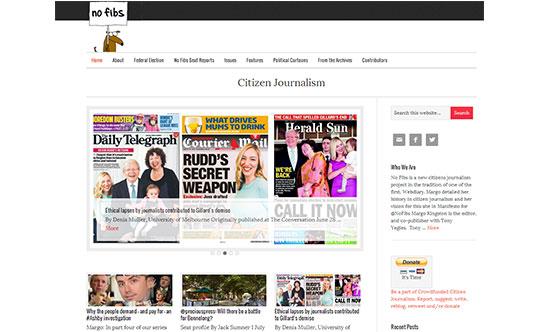 NoFibs.com.au – Citizen Journalism